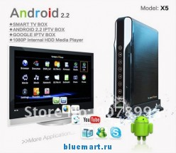 Baru X5 - медиа-плеер, HD1080P, Android 2.2, IPTV, HDMI