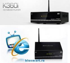 Kaiboer K360i - медиа-плеер, HD1080P, Wi-Fi, HDMI