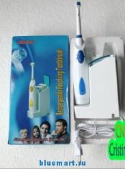 Электрическая аккумуляторная зубная щетка