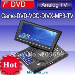 DV-T78 - портативный DVD-плеер, 7