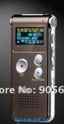 SM-VC0027 - цифровой диктофон, 2GB, OLED, USB, MP3, WAV