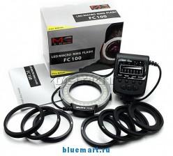 Meike FC-100 - кольцевая вспышка для камер Nikon