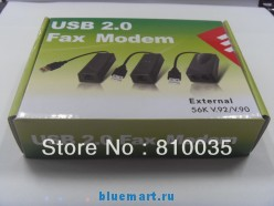 Факс-модем, 56k, USB, Dial Up