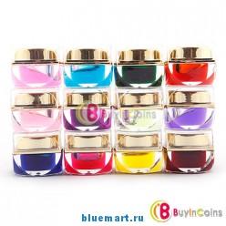 Набор цветных покрытий для ногтей, 12 цветов