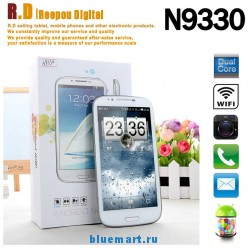 N9330 - смартфон, Android 4.0, Media Tek MTK6577 Dual Core 1GHz, 5.3