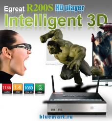 Egreat R200S - HD Видеопроигрыватель, 3D, Android, DLNA, 3.5 HDD, USB, Wi-Fi