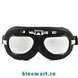Очки для мотоциклетного шлема в стиле ретро авиатор.