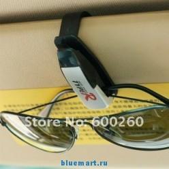 Автомобильный держатель для очков, черный, пластик