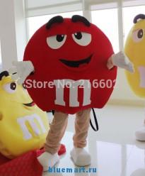 Ростовая кукла конфета M&M
