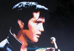 Репродукция картины маслом  Поп-певец