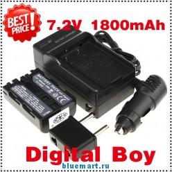 NP-FM500H - аккумулятор + зарядное устройство + автомобильное зарядное устройство + штекер для Sony DSC-R1 F707 F717
