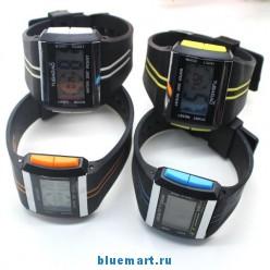 Мужские водонепроницаемые часы, LED, 4 цвета
