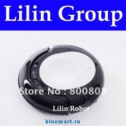 LL-286 - мини робот-пылесос, влажная уборка, боковые щетки, противоударные сенсоры (черный цвет)
