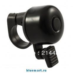 Ручной велосипедный звонок, металл и пластик, черный