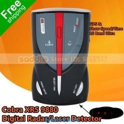 Cobra xrs 9880 антирадар lcd дисплей gps