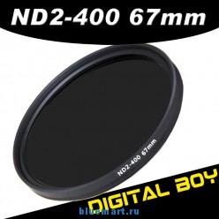 Нейтрально-серый фильтр ND2-ND400 для Canon 18-135 70-200; Nikon 18-105