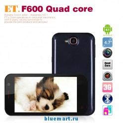F600 - смартфон, Android 4.1.2, MTK6589 Quad Core 1.2GHz, 4.7