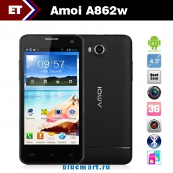 Amoi A862W - Смартфон, Android 4.1, MSM8225Q Quad Core 1.2GHz, 4.5