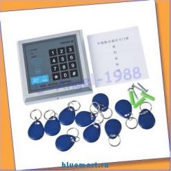 Цифровой замок для двери – RFID, блокировка двери, 10 ключей-брелоков