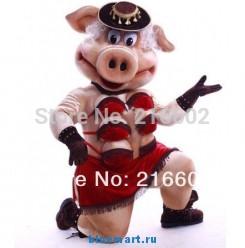 Ростовая кукла свинка-стриптизерша