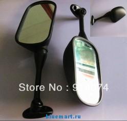 Зеркала обзора - гоночные, противоударные, стеклянные, для Honda CBR, 600RR, 1000RR