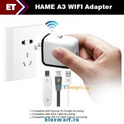 HAME A3 - WIFI адаптер с поддержкой 3G Dongle, ADSL, USB-2-0