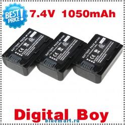 NP-FH50 - 3 аккумулятора LI-ion для Sony FH30 FH40 TG3 TG5 TG7 DSC-HX1