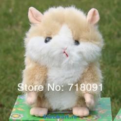 Мягкая игрушка - хомяк-повторюшка, 8 шт.