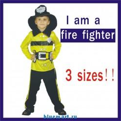 Карнавальный детский костюм пожарника