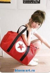 Дорожная сумка красная для багажа Duffel, для ношения на плече 88
