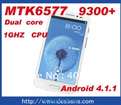 Hero H9300+ - смартфон, Android 4.1.1, MTK6577 (2x1GHz), qHD 5.3