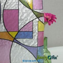 Переносной витраж на стекло