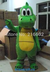 Ростовая кукла зеленый динозавр
