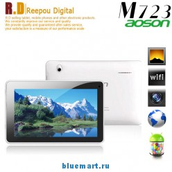 Aoson M723 - планшетный компьютер, Android 4.1, Actions ATM7029 ARM Cortex A9 Quad Core 1.2Ghz, 7.0