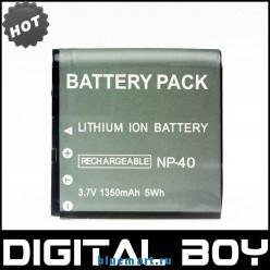 NP-40 - аккумулятор Li-ion для CASIO CNP-40 CNP40
