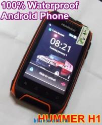 HUMMER H1+ - смартфон, 2 SIM-карты, Android 4.2.2, 3.5