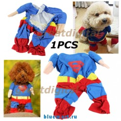 Костюм Супермена для животных