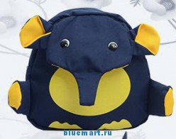 Рюкзак детский в виде слоненка, 5 цветов на выбор