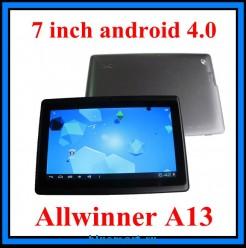 Allwinner a13 - планшетный компьютер , android 4.0, 7-дюймовый