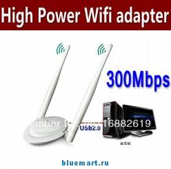 Беспроводной маршрутизатор WI-FI - 300Mб/с, 11N, 500мВт, USB