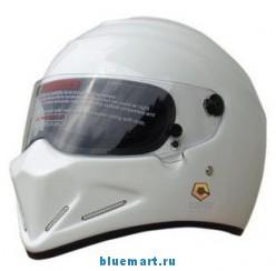 Мотоциклетный защитный шлем из углеродистого волокна