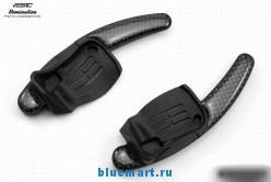 Подрулевые лепестки из карбонового волокна для Volkswagen, 2шт