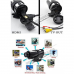 DW-D-T10 - цифровая камера (видео-регистратор) для спорта, HD 720P, 5MP, TV-выход, пульт ДУ