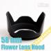 Лепестковая бленда Mennon PCLH1-55 55mm для объективов Canon/Nikon/Sony/Pentax